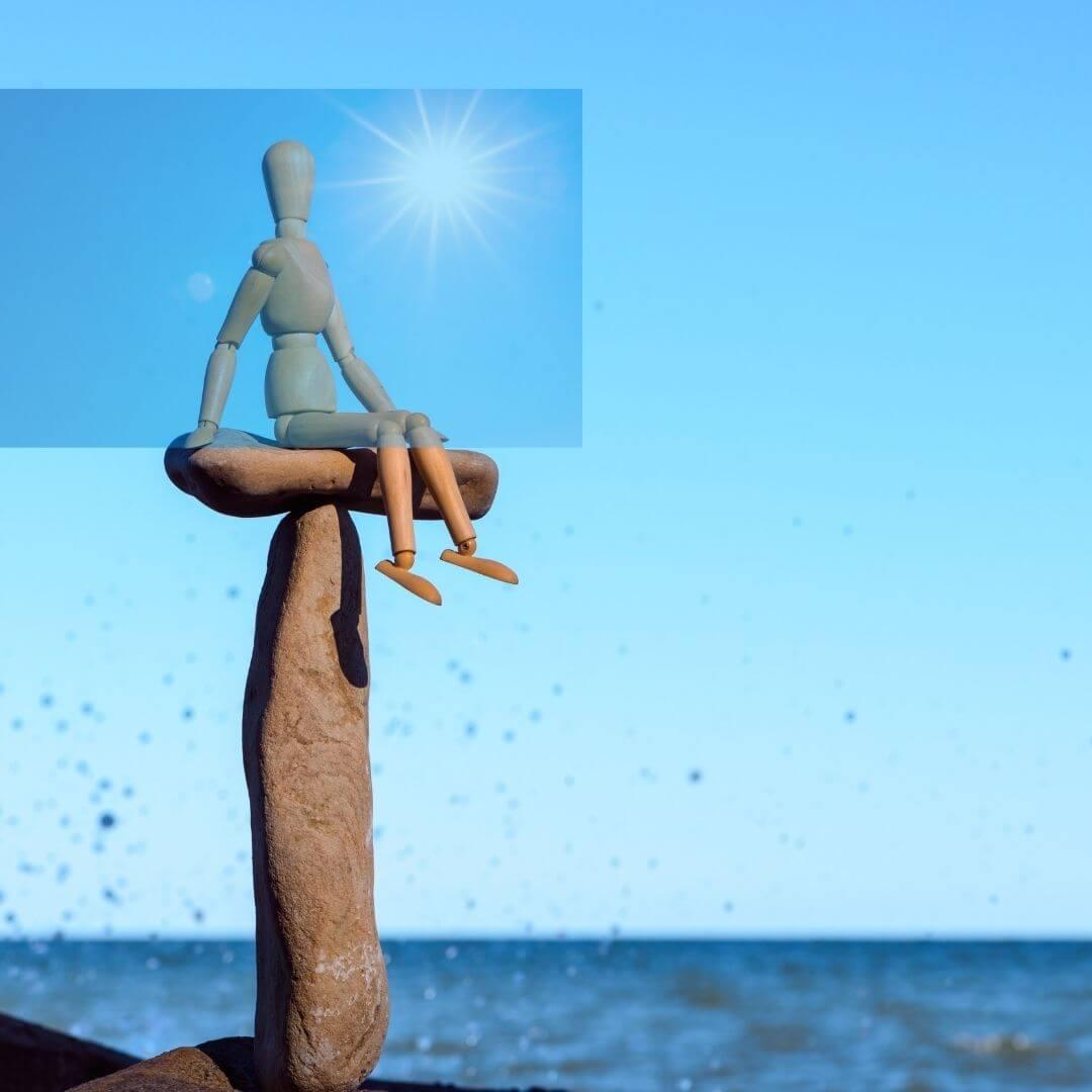 Was tun, wenn dir einmal alles zu viel wird? 2 Tipps, die dir sofort helfen gelassener zu werden und in deine Kraft zu kommen