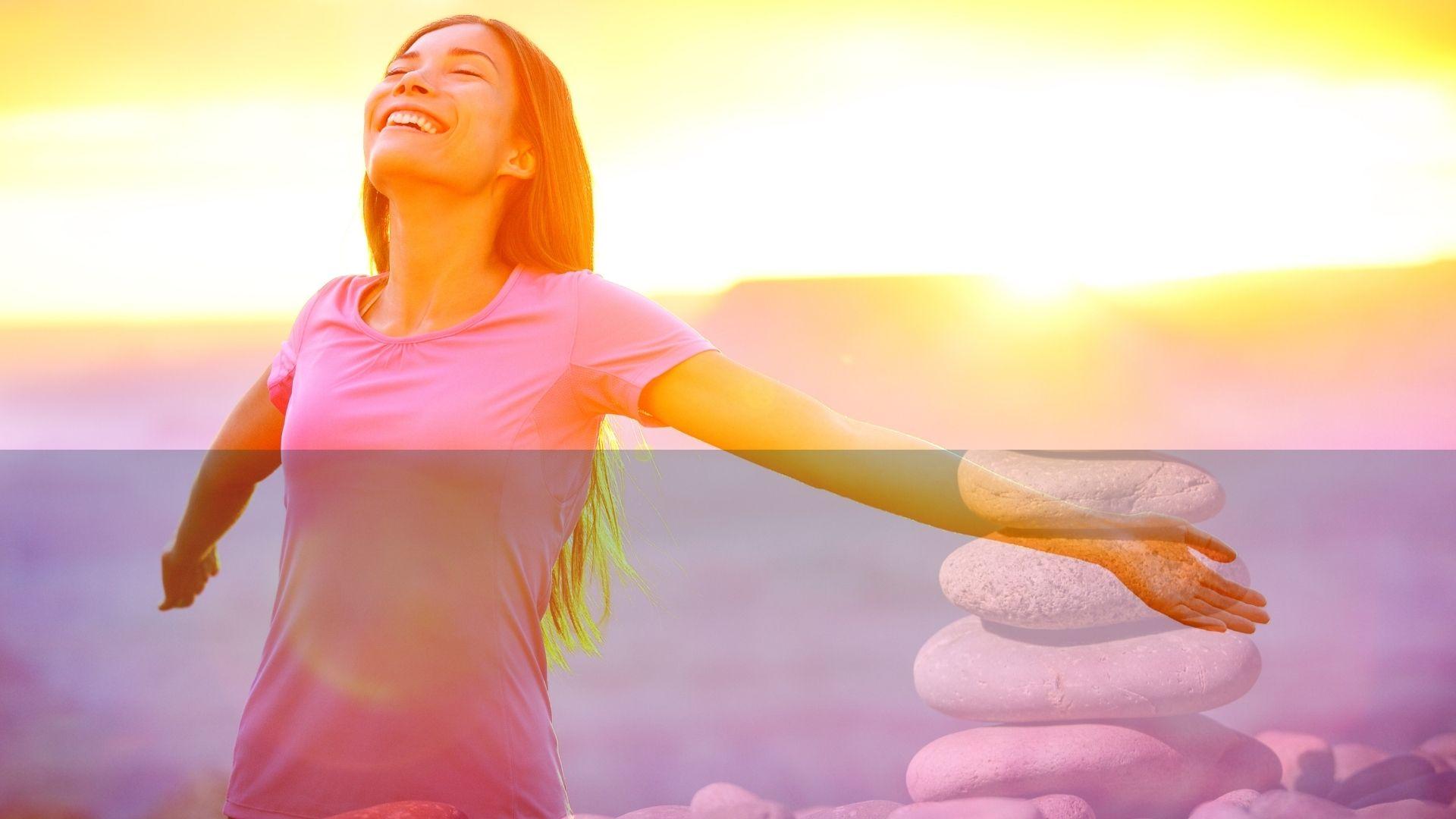 Gelassener werden und in deine Kraft kommen – 2 Tipps, die dir sofort helfen